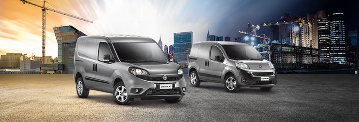 Fiat Doblo ja Fiorino – Rahoitustarjous